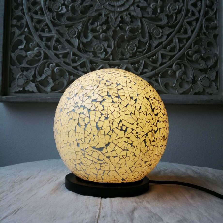 lampada sfera crack etnica bianca (1)