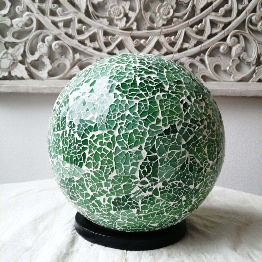 lampada sfera etnica crack verde (3)