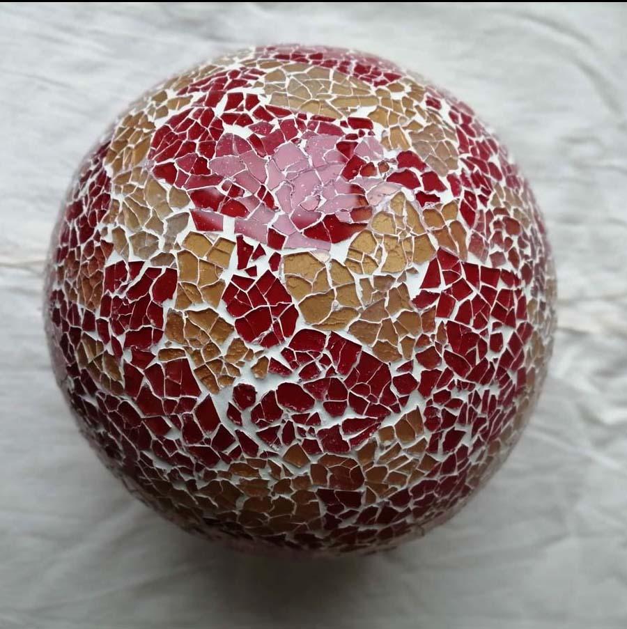 lampada sfera etnica oro rossa (1)
