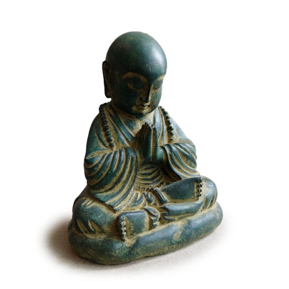 statua monaco resina arredo etnico (2)