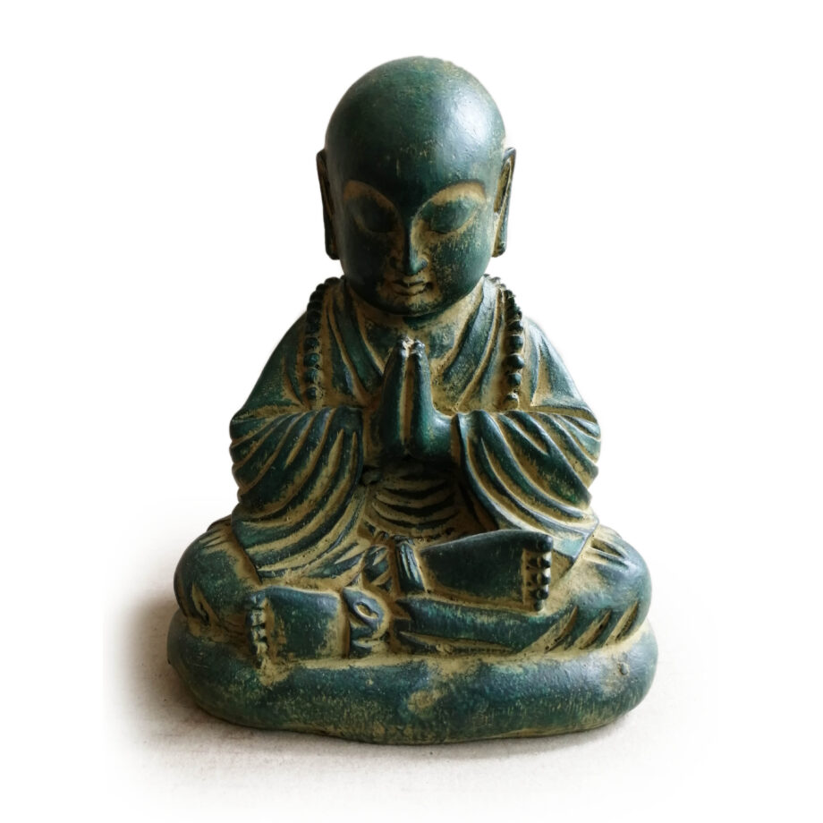 statua monaco resina arredo etnico (3)