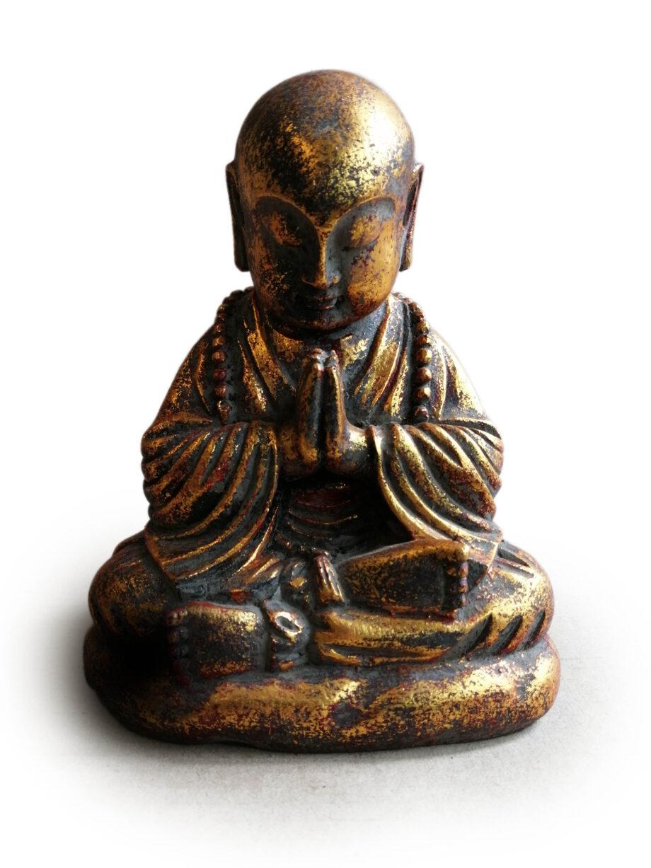 statua monaco resina arredo etnico (5)